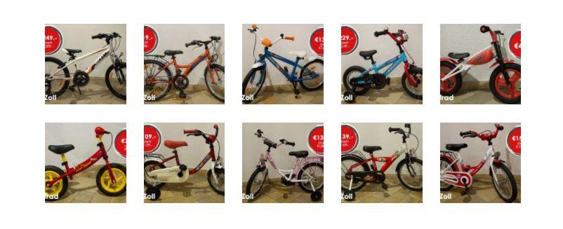 Osteraktion - Kinderfahrräder zum Superpreis